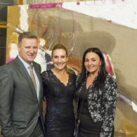 From left: Alexander Groenhuijzen, managing director of Rakord; Alice Humlová, collection curator, Cum Arte; Ivana Koršňáková, senior event manager, Lobkowicz Events